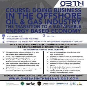 Course: Doing Business In The Offshore Oil & Gas Industry