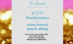 The Ultimate 2020 Manifestation & Vision Board Workshop